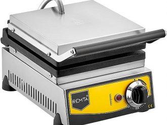 Çiçek Model Waffle Makinası Elektrikli 16 cm Çap