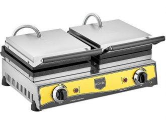 Çiftli Çiçek Model Waffle Makinası Elektrikli 16 cm Çap