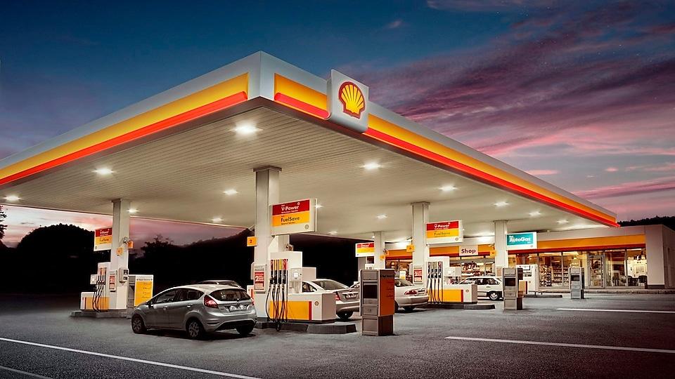 Shell Benzinlik